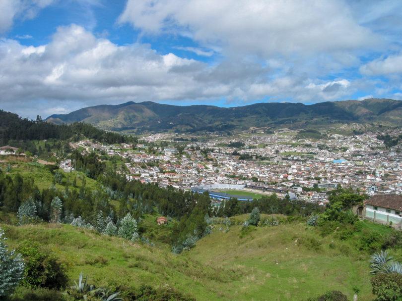Ecuador - Hier die Stadt Loja im Süden von Ecuador