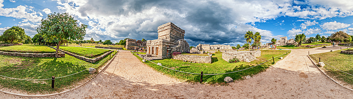 Mexiko - Tulum - Ruinen